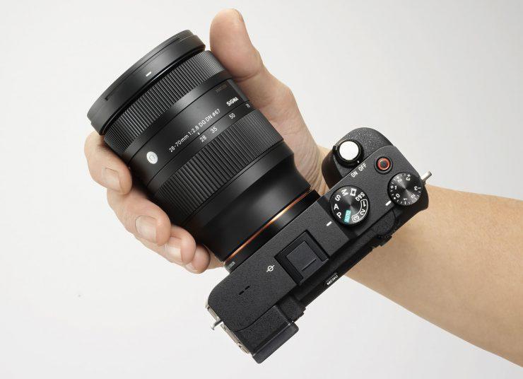 Sigma 28-70 f/2.8 Lens on Sony A7C Camera boyd