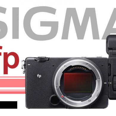 sigma fp L with EV attached