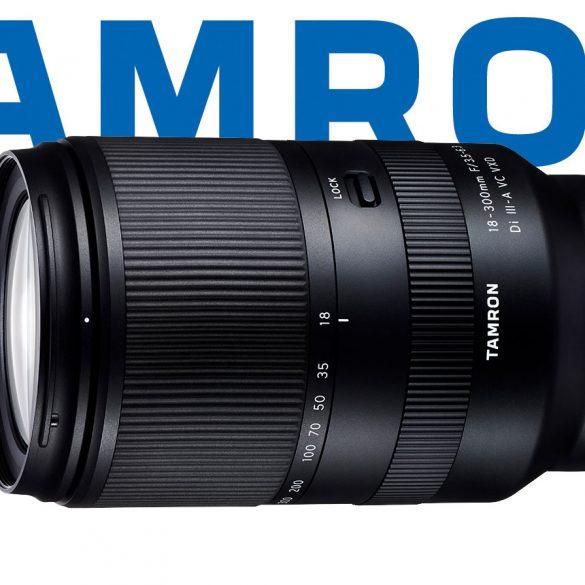 Tamron 18-300mm Di III A VC VXD Lens