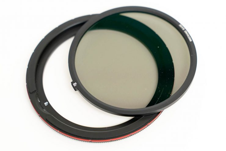 Freewell Magnetic VND Filter inner and outer base rings