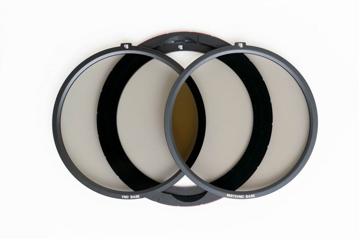 The base ring and two base filters for the freewell magnetic system
