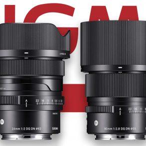 Sigma 24mm f/2 DG DN Lens and 90mm f/2.8 DG DN Lens