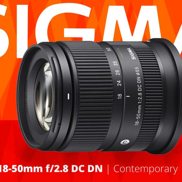 Sigma 18-50mm f/2.8 DC DN for Sony E-mount
