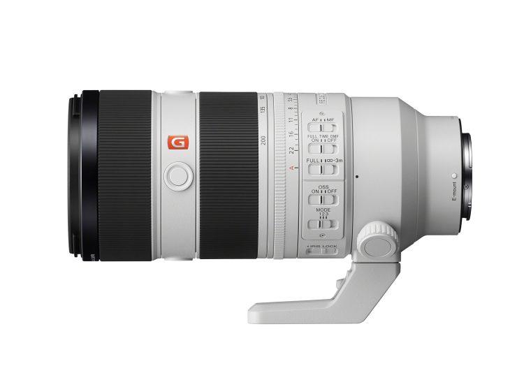 Sony 70-200mm f/2.8 OSS GM II Lens side view