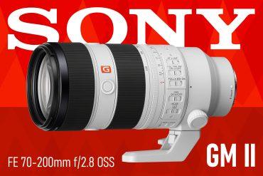 sony 70-200 f/2.8 OSS GM II Lens