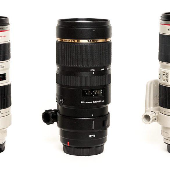 Canon 70-200 Zoom Lenses