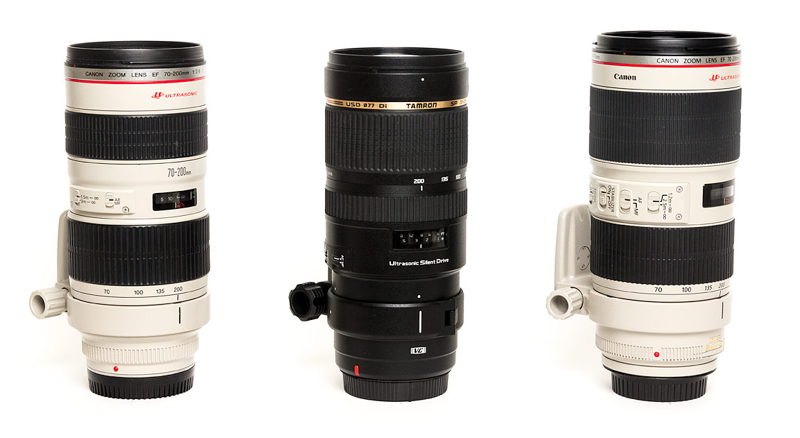 Canon 70-200 Zoom Lenses